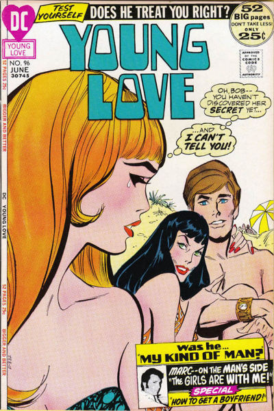Cover for Young Love (DC, 1963 series) #96