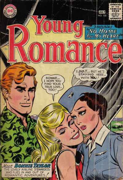 Cover for Young Romance (1963 series) #130