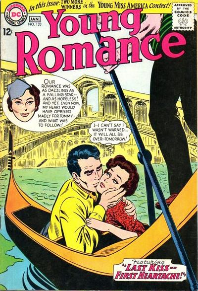 Cover for Young Romance (1963 series) #133
