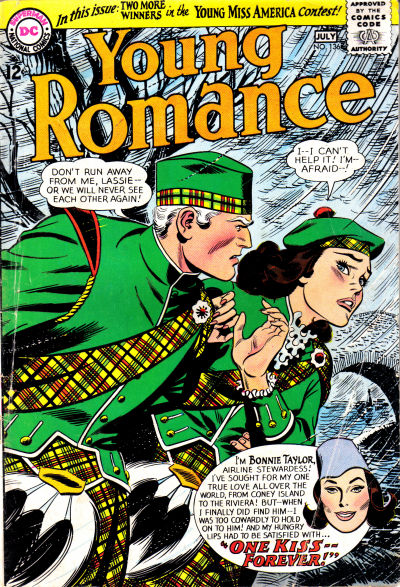 Cover for Young Romance (DC, 1963 series) #136