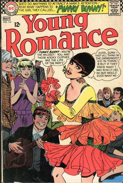 Cover for Young Romance (DC, 1963 series) #141