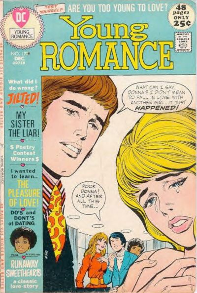 Cover for Young Romance (DC, 1963 series) #177