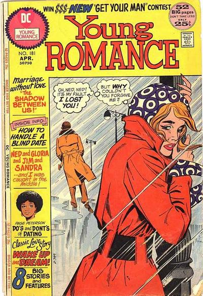 Cover for Young Romance (DC, 1963 series) #181