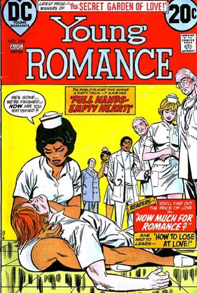 Cover for Young Romance (DC, 1963 series) #194