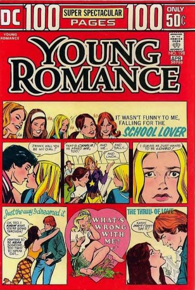 Cover for Young Romance (DC, 1963 series) #198