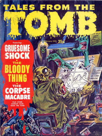 Cover for Tales from the Tomb (Eerie Publications, 1969 series) #v2#1