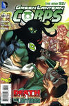 Cover for Green Lantern Corps (DC, 2011 series) #30