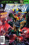 Cover for Aquaman (DC, 2011 series) #16 [Newsstand Edition]