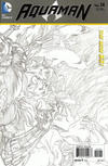 Cover for Aquaman (DC, 2011 series) #14 [Ivan Reis Wraparound Sketch Variant]