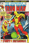 Cover for Iron Man (Marvel, 1968 series) #48 [British price variant.]