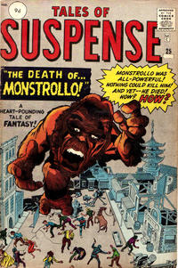 Cover for Tales of Suspense (Marvel, 1959 series) #25