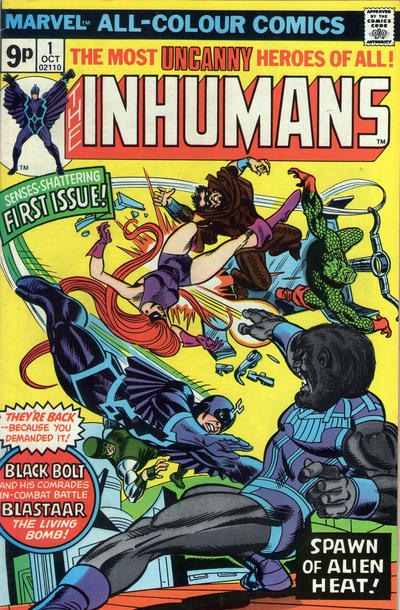 Cover for The Inhumans (Marvel, 1975 series) #1 [Regular Edition]