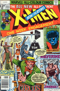 Cover for The X-Men (Marvel, 1963 series) #111 [Regular Edition]