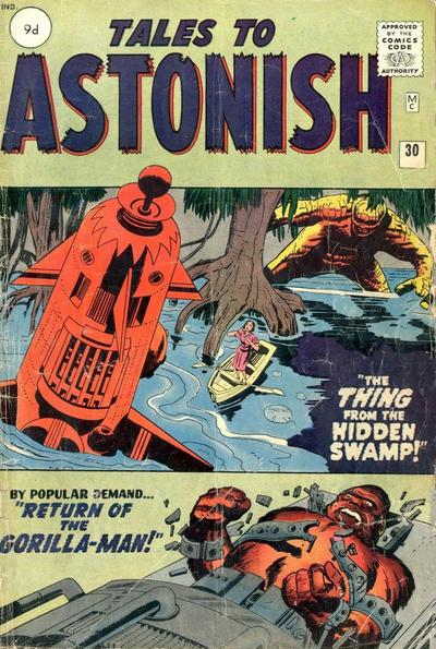 Cover for Tales to Astonish (Marvel, 1959 series) #30