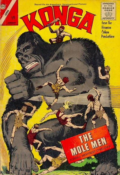 Cover for Konga (Charlton, 1960 series) #10