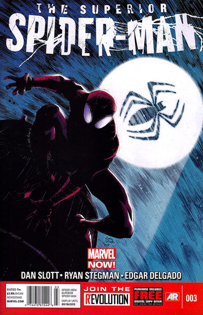 Cover for Superior Spider-Man (Marvel, 2013 series) #3 [2nd Printing]