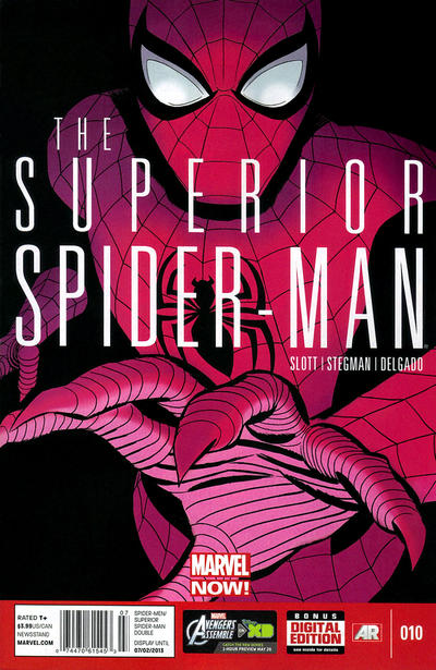 Cover for Superior Spider-Man (Marvel, 2013 series) #10