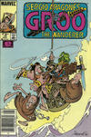 Cover Thumbnail for Sergio Aragonés Groo the Wanderer (1985 series) #15 [Newsstand]