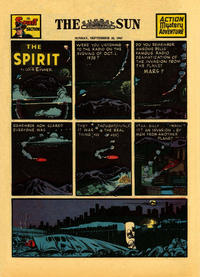 Cover Thumbnail for The Spirit (Register and Tribune Syndicate, 1940 series) #9/28/1947