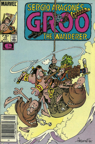 Cover for Sergio Aragonés Groo the Wanderer (Marvel, 1985 series) #15 [Direct]
