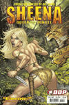 Cover for Sheena: Queen of the Jungle (Devil's Due Publishing, 2007 series) #5 [Cover B David Nakayama & Blond]