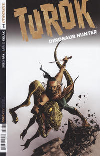 Cover Thumbnail for Turok: Dinosaur Hunter (Dynamite Entertainment, 2014 series) #4 [Subscription Cover]