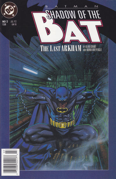 Cover for Batman: Shadow of the Bat (DC, 1992 series) #2