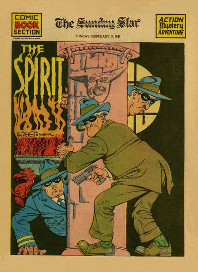 Cover for The Spirit (Register and Tribune Syndicate, 1940 series) #2/9/1941