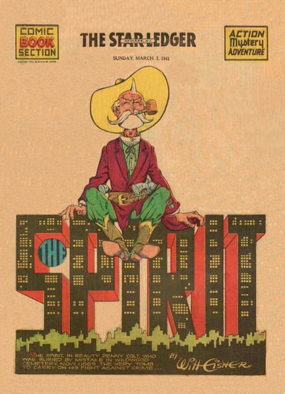 Cover for The Spirit (Register and Tribune Syndicate, 1940 series) #3/2/1941