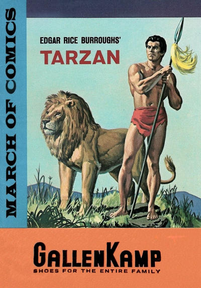 Cover for March of Comics (Western, 1946 series) #252