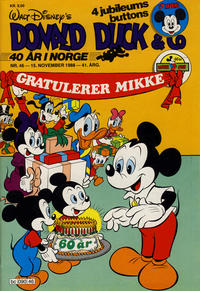 Cover Thumbnail for Donald Duck & Co (Hjemmet, 1948 series) #46/1988