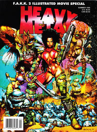 Cover Thumbnail for Heavy Metal Special Editions (Metal Mammoth, Inc., 1992 series) #v13#2 - F.A.K.K.2 Movie Special