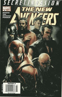 Cover for New Avengers (Marvel, 2005 series) #44