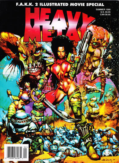 Cover for Heavy Metal Special Editions (Metal Mammoth, Inc., 1992 series) #v13#2 - F.A.K.K.2 Movie Special