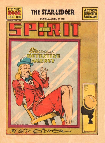 Cover for The Spirit (Register and Tribune Syndicate, 1940 series) #4/27/1941