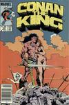 Cover Thumbnail for Conan the King (1984 series) #33 [Newsstand Edition]