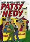 Cover for Patsy and Hedy (Marvel, 1952 series) #1