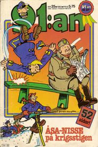 Cover for 91:an (1965 ? series) #25/1982