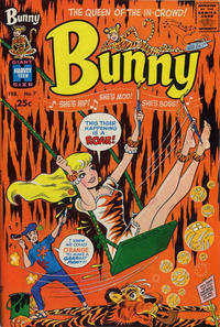 Cover Thumbnail for Bunny (Harvey, 1966 series) #7