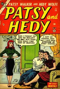 Cover Thumbnail for Patsy and Hedy (Marvel, 1952 series) #19