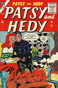 Cover Thumbnail for Patsy and Hedy (Marvel, 1952 series) #34