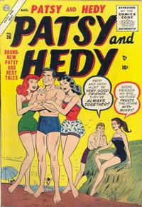 Cover Thumbnail for Patsy and Hedy (Marvel, 1952 series) #36