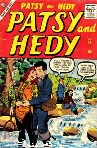 Cover Thumbnail for Patsy and Hedy (Marvel, 1952 series) #52