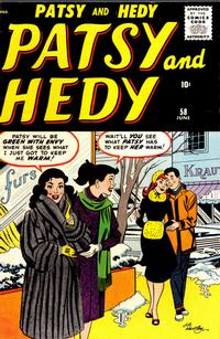 Cover Thumbnail for Patsy and Hedy (Marvel, 1952 series) #58