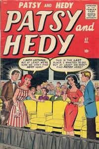 Cover Thumbnail for Patsy and Hedy (Marvel, 1952 series) #67