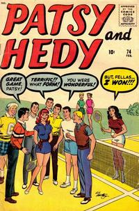 Cover Thumbnail for Patsy and Hedy (Marvel, 1952 series) #74
