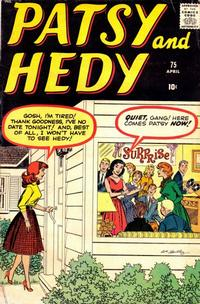 Cover Thumbnail for Patsy and Hedy (Marvel, 1952 series) #75