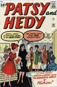 Cover Thumbnail for Patsy and Hedy (Marvel, 1952 series) #83