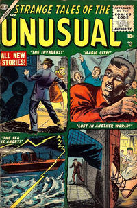 Cover Thumbnail for Strange Tales of the Unusual (Marvel, 1955 series) #3