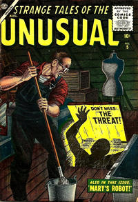 Cover Thumbnail for Strange Tales of the Unusual (Marvel, 1955 series) #5